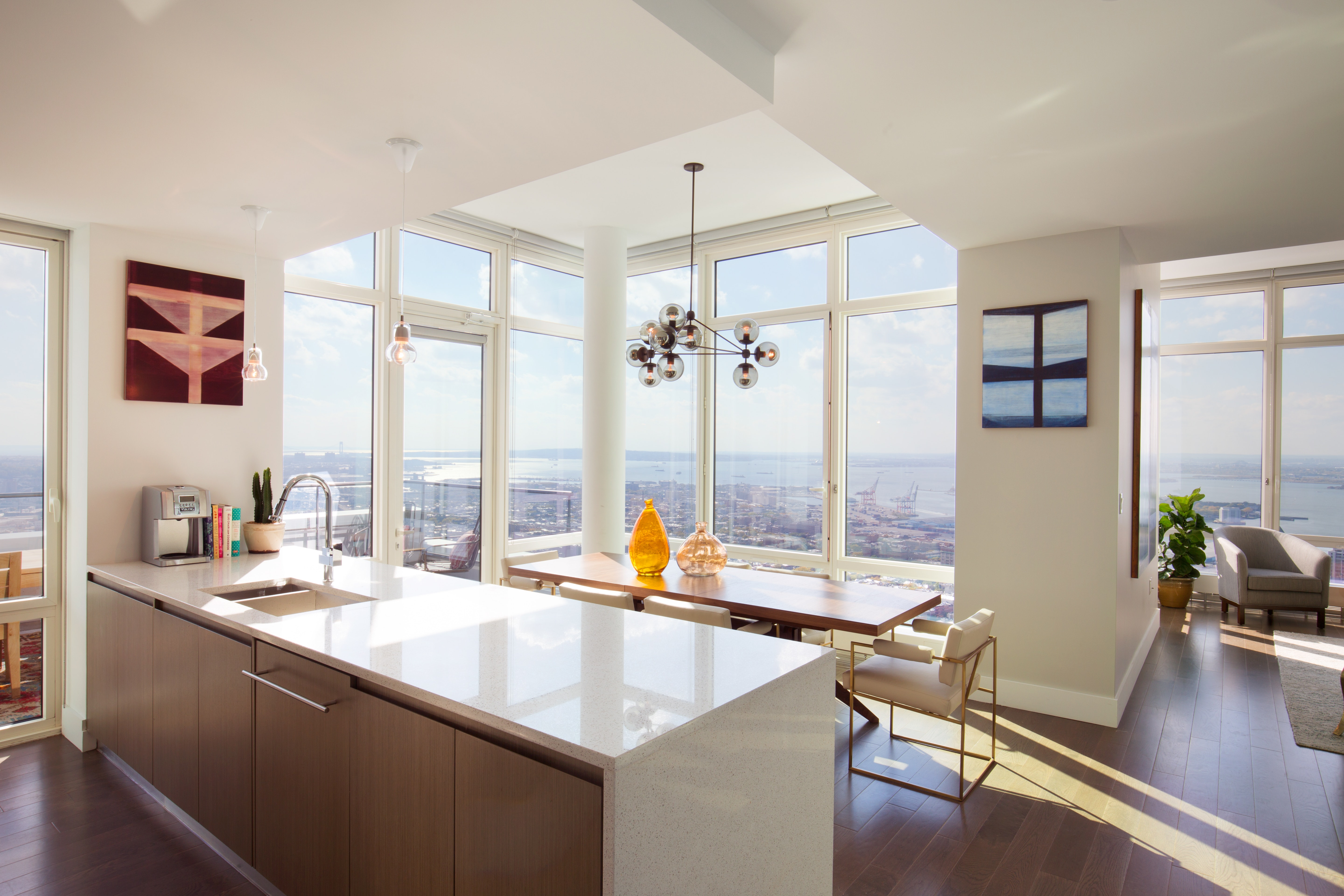 Duplex Ph With Private Terrace Ph53a, Downtown Brooklyn, NY - USA (photo 4)