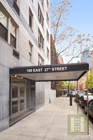 160 EAST 27TH STREET 6B, Gramercy Park, $599,000, Web #: 13947902