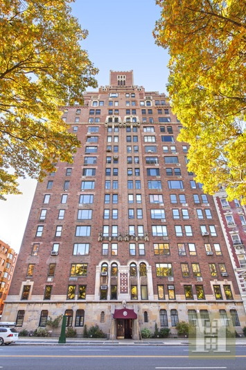 444 CENTRAL PARK WEST 4C, Upper West Side, $1,325,000, Web #: 16612716
