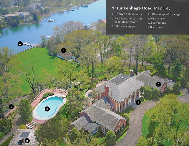 1 RUNKENHAGE ROAD, Darien, $7,950,000, Web #: 170163410