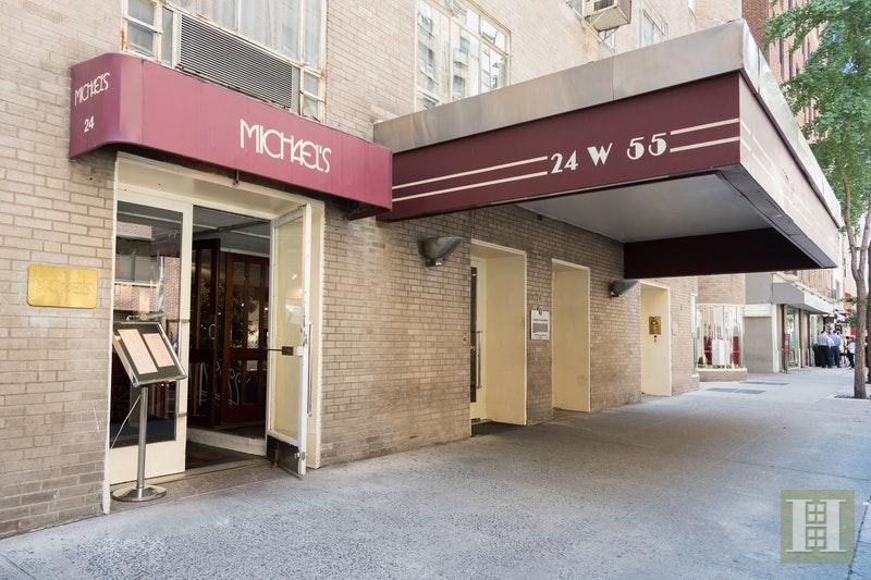 24 WEST 55TH STREET 4F, Midtown West, $799,000, Web #: 17117575