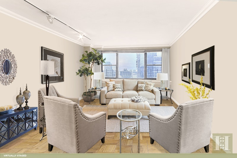 165 WEST 66TH STREET 19E, Upper West Side, $1,100,000, Web #: 17122088