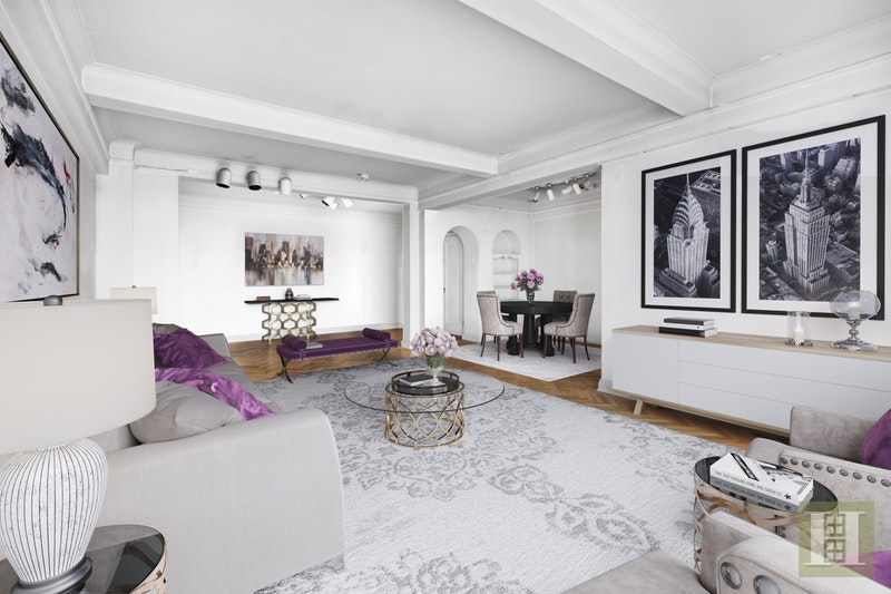 140 RIVERSIDE DRIVE 3D, Upper West Side, $1,295,000, Web #: 17601687