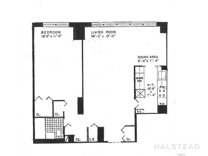 555 KAPPOCK STREET 20B, Spuyten Duyvil, $185,000, Web #: 18115898