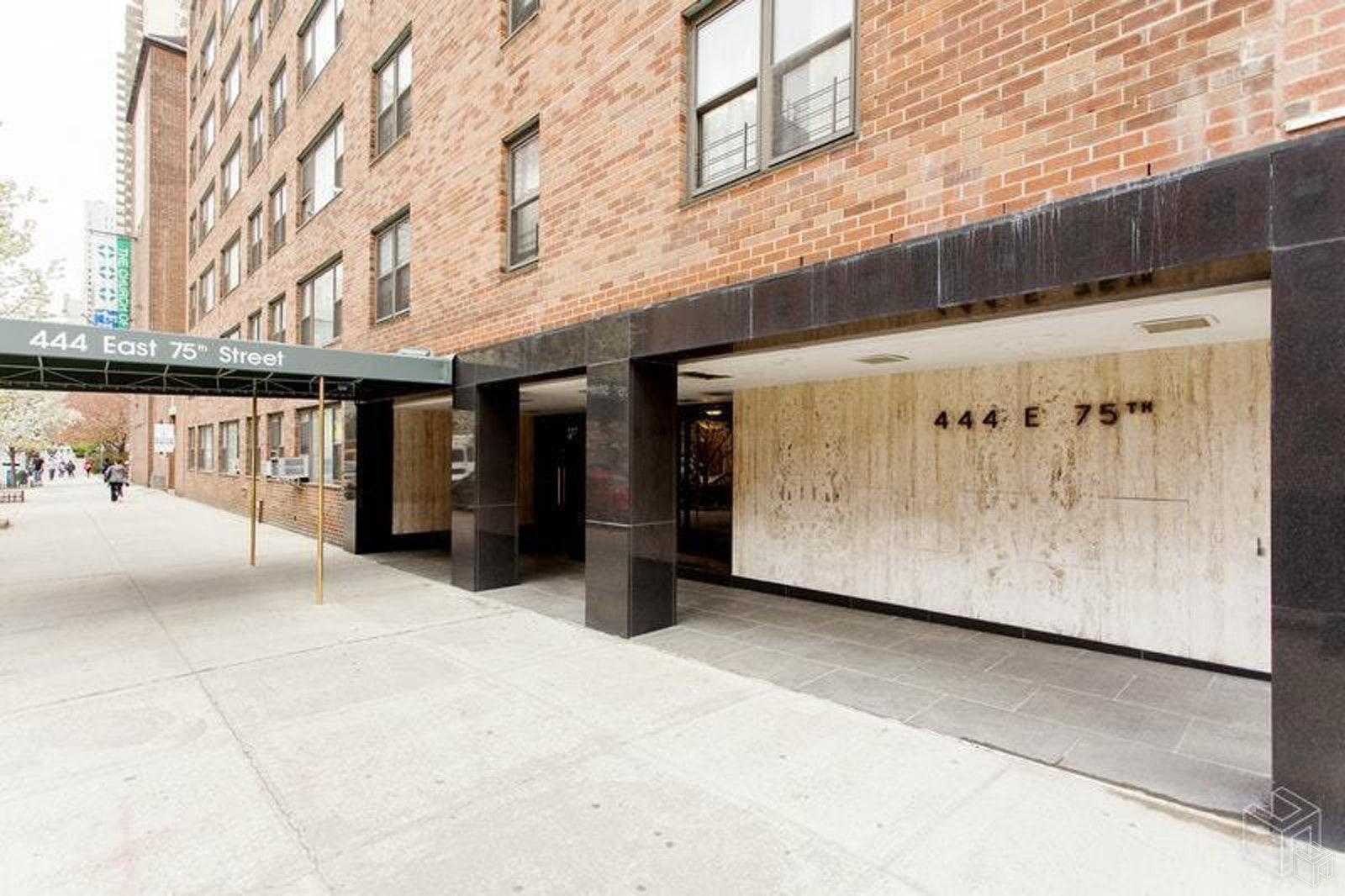 444 EAST 75TH STREET 1F, Upper East Side, $2,500, Web #: 19356514