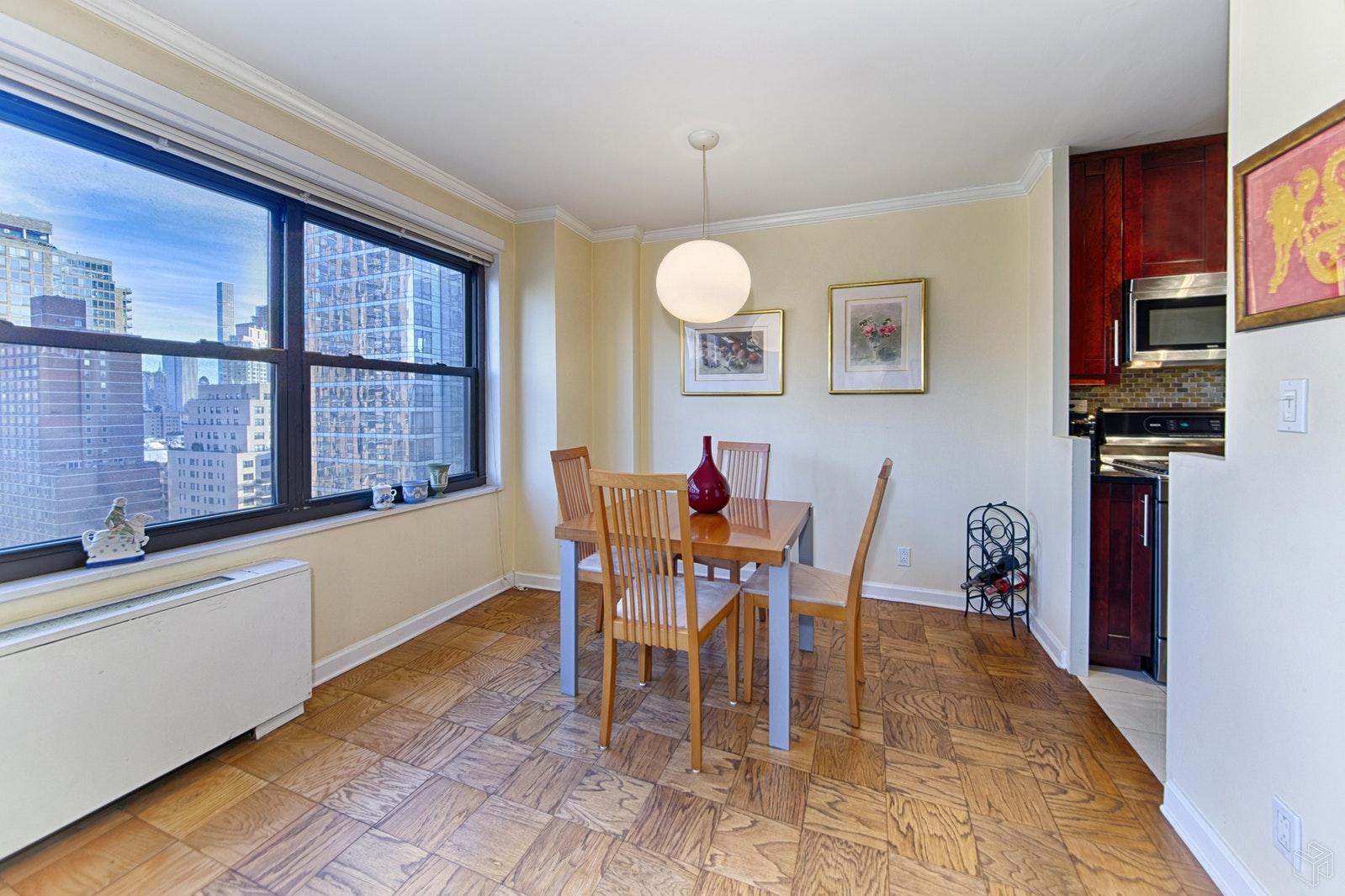 160 WEST END AVENUE 21T, Upper West Side, $880,000, Web #: 19414282