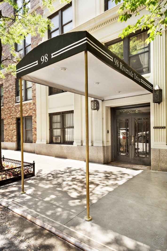 98 RIVERSIDE DRIVE 14A, Upper West Side, $10,800, Web #: 19478352