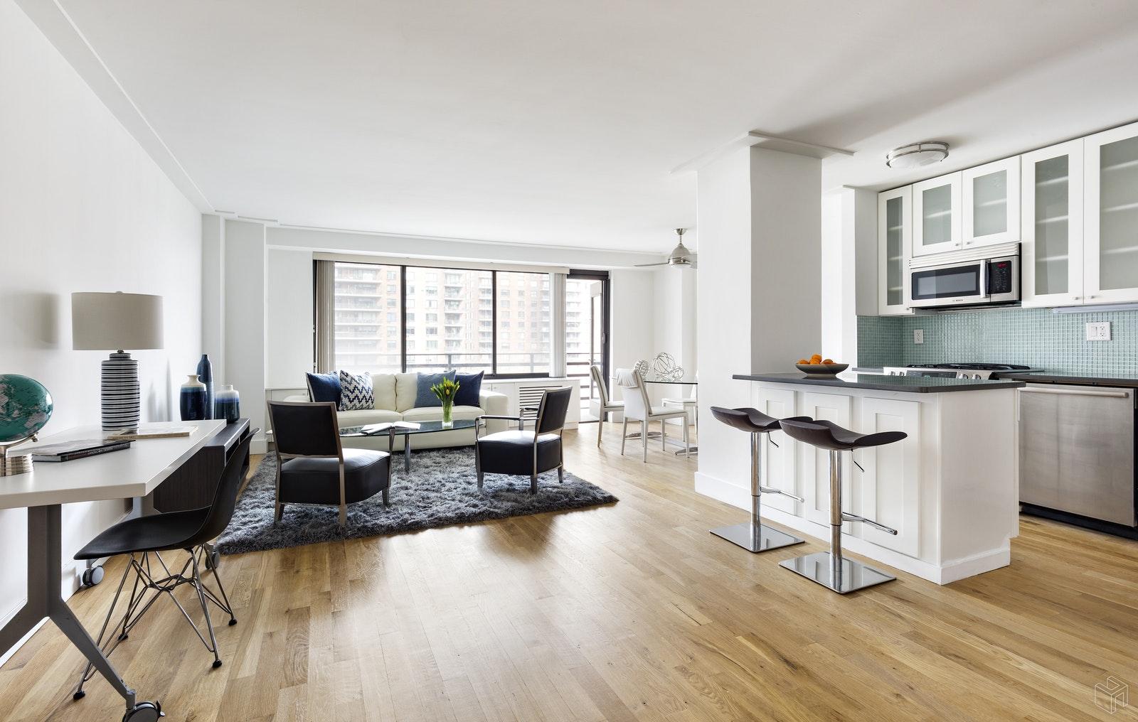 382 CENTRAL PARK WEST 8A, Upper West Side, $1,199,000, Web #: 19482481