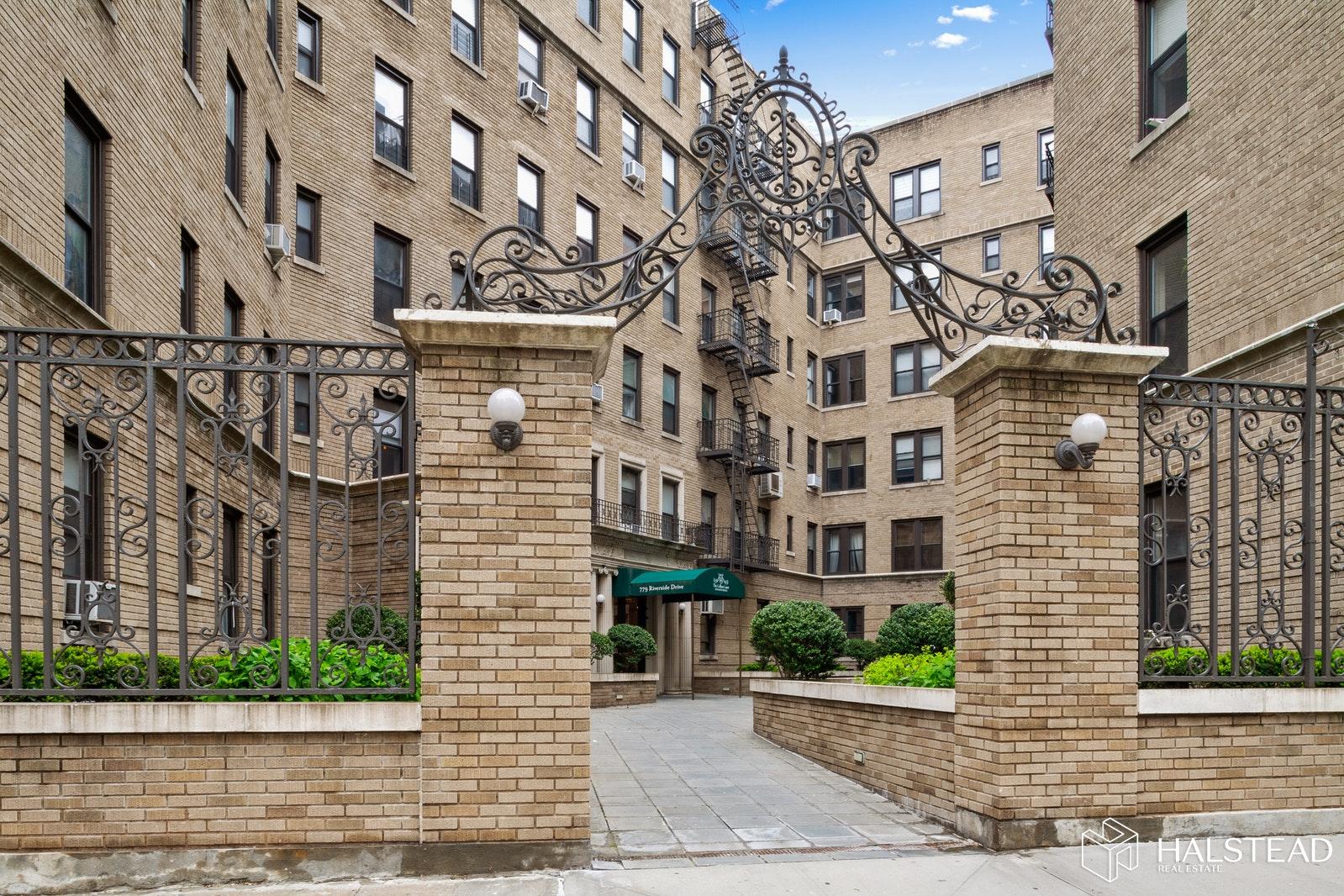 779 RIVERSIDE DRIVE C15, Washington Heights, $2,300, Web #: 19603569