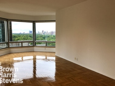 Incredible one-bedroom with direct Central Park views. Huge living room, windowed kitchen, beautiful wood floors, in-unit washer/dryer and amazing natural light.Central Park Place is a full-service condo near Columbus Circle with a common outdoor terrace, gym, sauna and indoor pool. The attentive and friendly staff ensure that this building is always in high demand. Please note that pets are not permitted for renters.All showings and open houses are by appointment only--please email the exclusive agent for this listing. No fee / agents CYOF. Video walkthrough available.