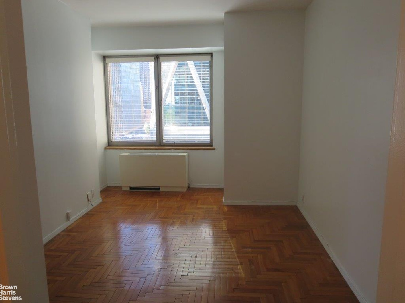 NO FEE APARTMENT! A desirable layout one bedroom, one bath  at the Central Park Place Condominium, a midtown west location with 3 minutes walk to the infamous Central Park.The apartment has dramatic city & Hearst Building Southern views from both the living room and the bedroom. It is very bright and quiet.The separate kitchen has complete appliances and the unit has large closets space, an en-suite marble bathroom and gorgeous wooden floor.Central Park Place Condominium features a 24 hour doorman, Health Club with pool and sauna, sun deck landscape terrace on the 6th floor, residents lounge, and bike storage.The free membership includes all amenities.The building is located one block away from Central Park and Columbus Circle area. Easily access the 1,A,C,D,B trains at Columbus Circle right downstairs as well as Time Warner Center shops and Whole Foods, cafes, restaurants, shops, and nightlife.Condo board application required - No pets allowed.