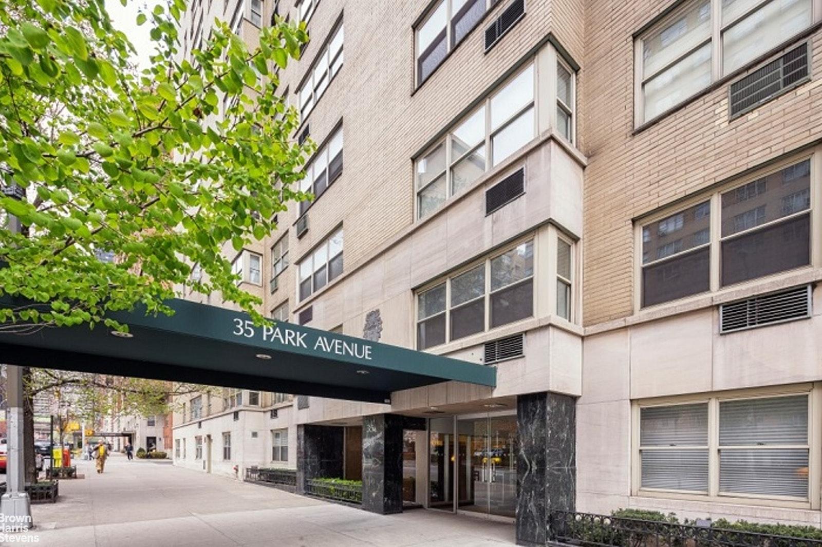 35 PARK AVENUE, Midtown East, $1,150,000, Web #: 20602460