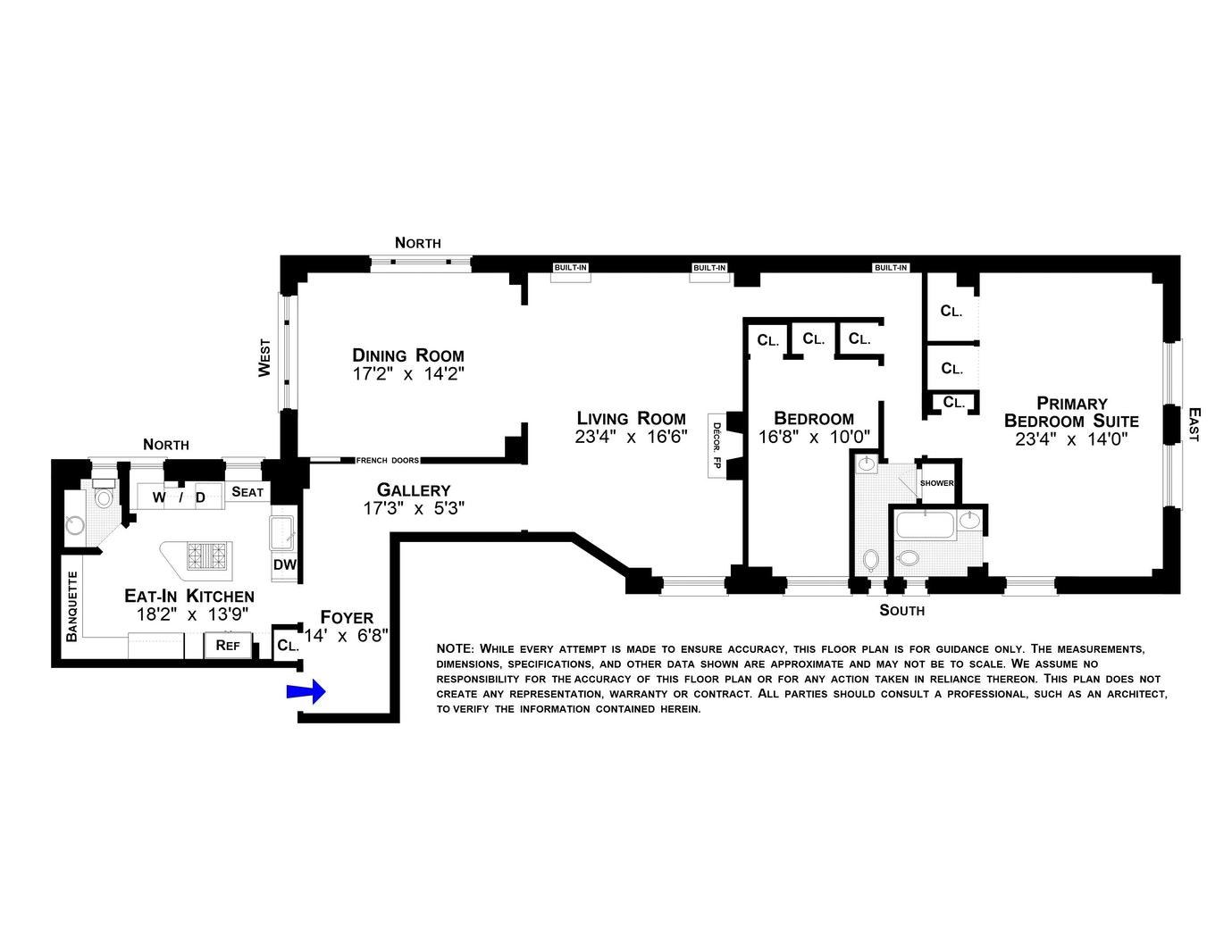 251 WEST 89TH STREET 8D, Upper West Side, $1,850,000, Web #: 20656682