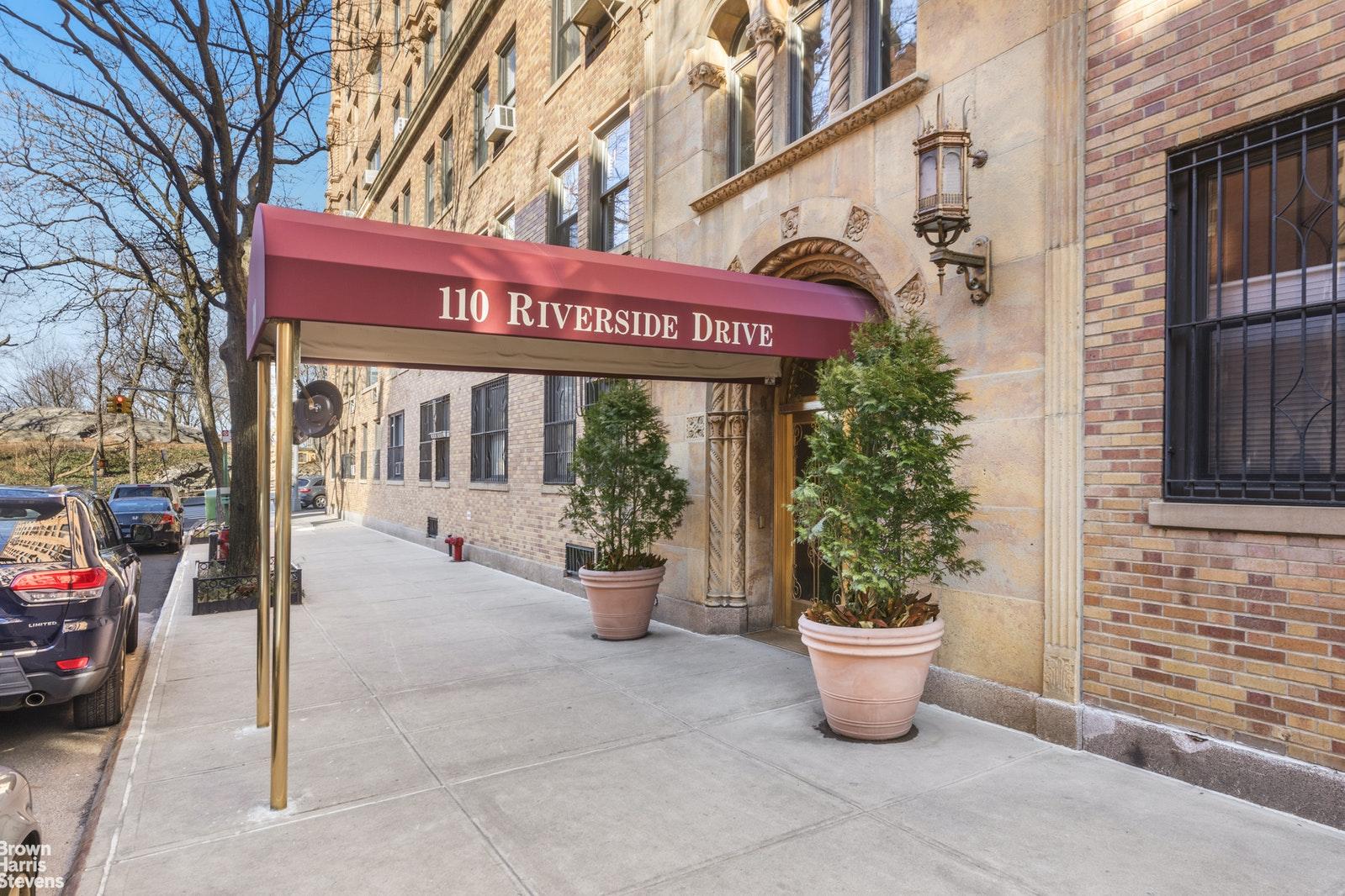 110 RIVERSIDE DRIVE 3C, Upper West Side, $2,195,000, Web #: 20847148