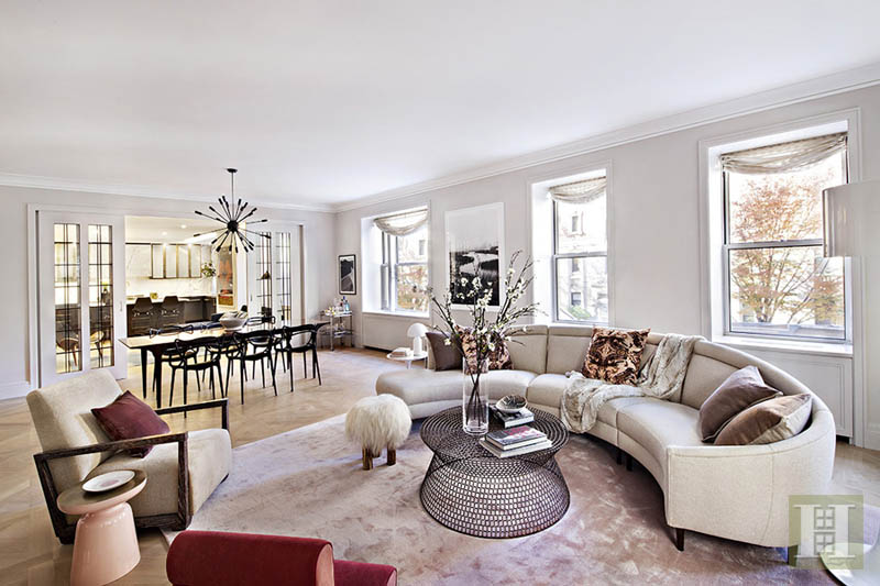 498 West End Avenue 7A, Upper West Side, NYC, $7,700,000, Web #: 11802733