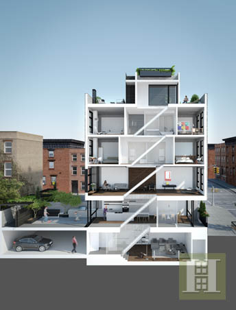 1 Wythe Avenue, Brooklyn, Brooklyn, NY, 11249, $4,500,000, Sold Property, Halstead Real Estate, Photo 10
