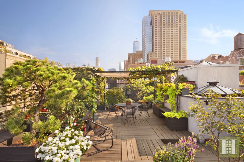 Peaceful Penthouse Loft, Tribeca, NYC, 10013, $5,250,000, Sold Property, Halstead Real Estate, Photo 1