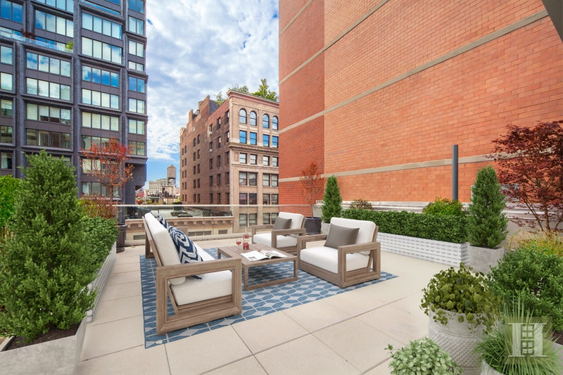 6 Cortlandt Alley PHA, Tribeca, NYC, 10013, $8,975,000, Property For Sale, ID# 16428224, Halstead
