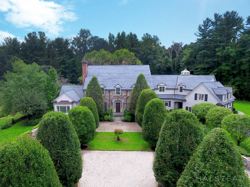 507 Silvermine Road, New Canaan, Connecticut, 06840, $3,350,000, Property For Sale, Halstead Real Estate, Photo 1