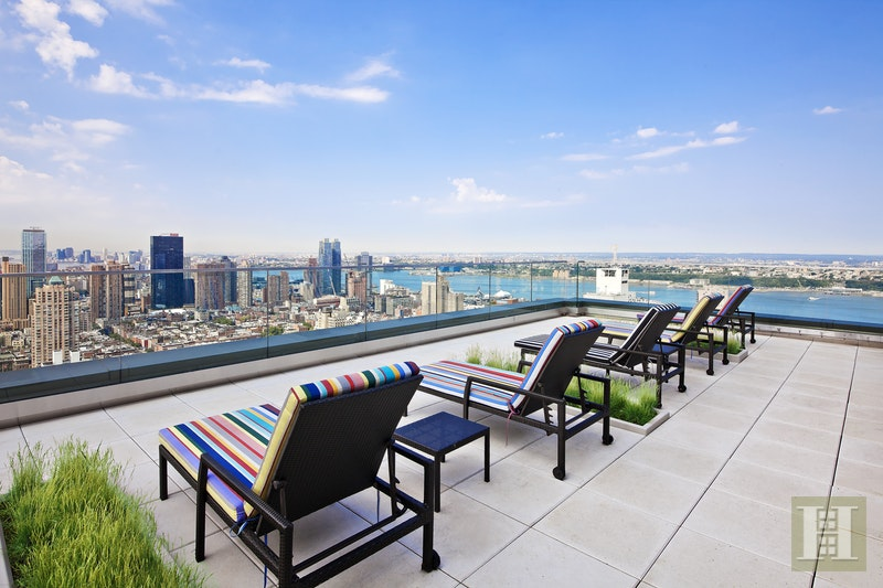 322 West 57th Street 46J, Midtown West, NYC, $3,400, Web #: 17013787