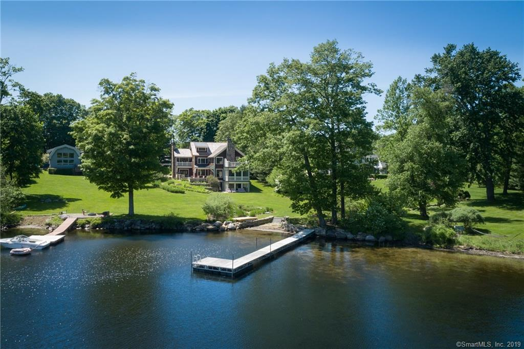 7 Arrow Point Road, Warren, Connecticut, 06777, $4,850,000, Property For Sale, Halstead Real Estate, Photo 1