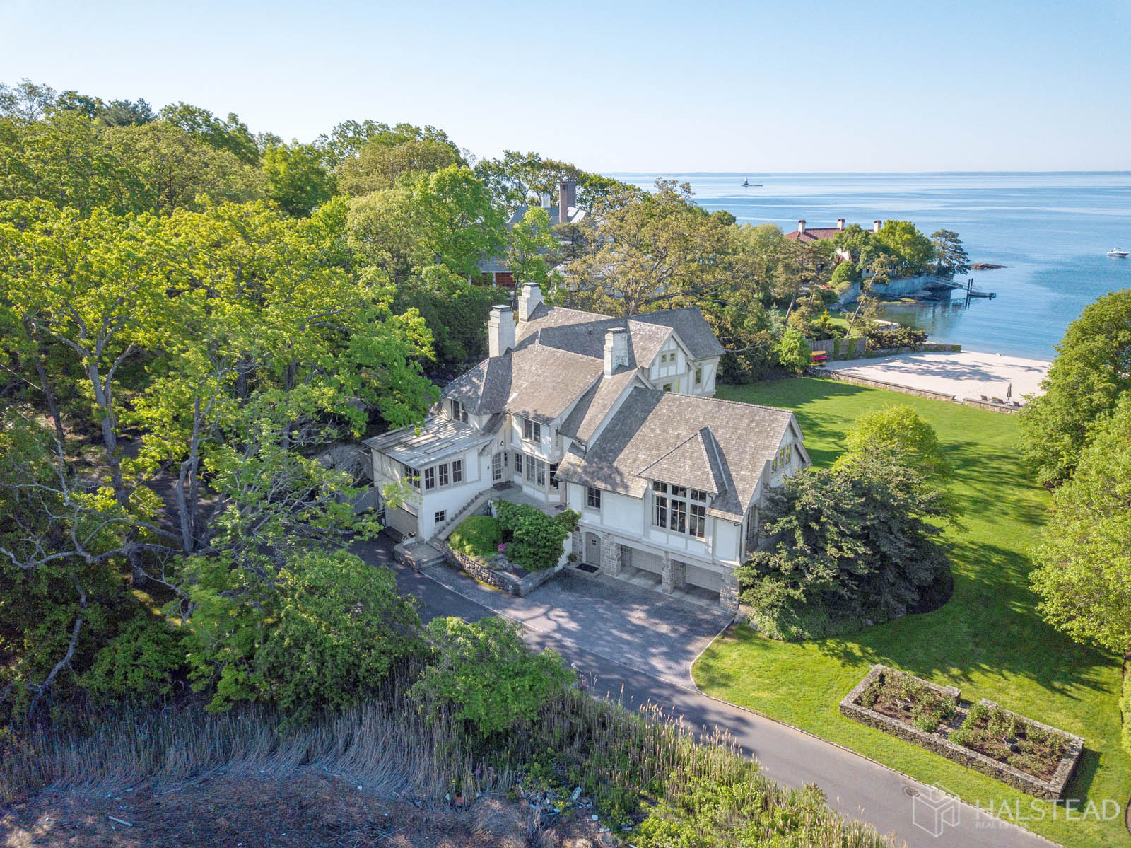 8 Butlers Island Road, Darien, Connecticut, 06820, $8,495,000, Property For Sale, Halstead Real Estate, Photo 1