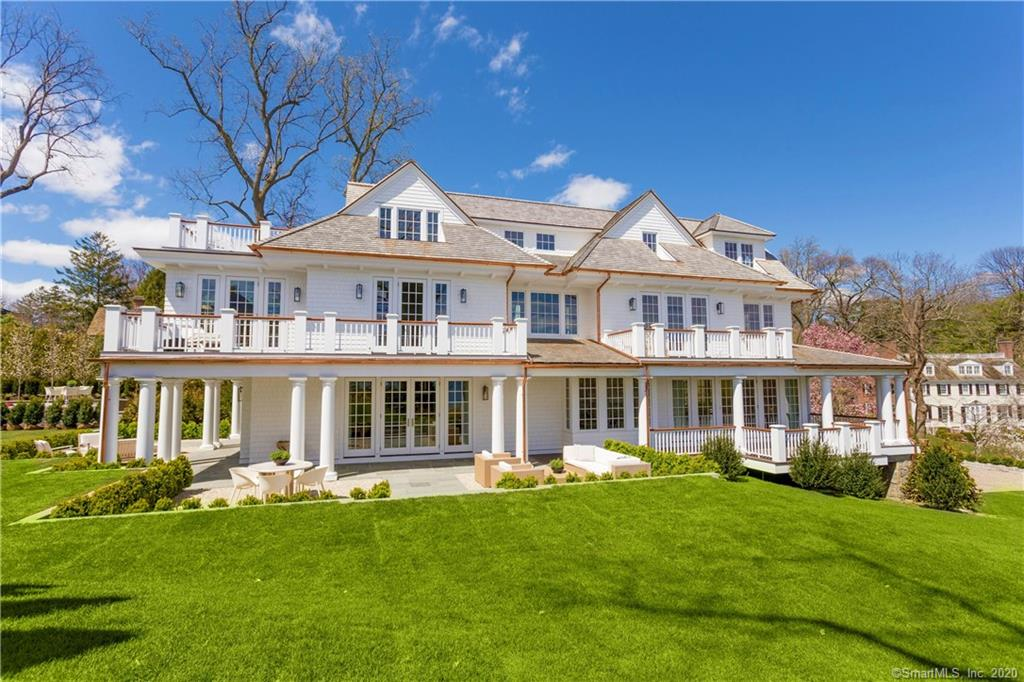 66 Glenwood Drive, Greenwich, Connecticut, 06830, $14,750,000, Property For Sale, Halstead Real Estate, Photo 1