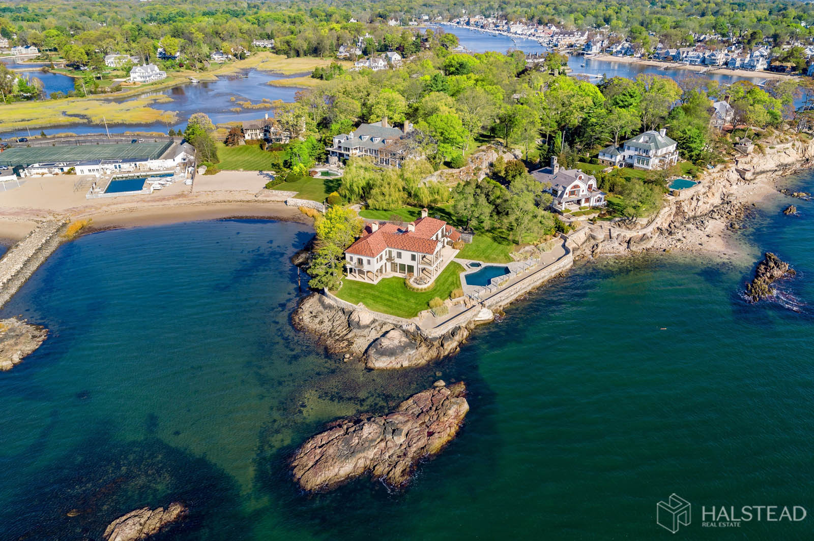 25 Butlers Island Road, Darien, Connecticut, 06820, $10,900,000, Property For Sale, Halstead Real Estate, Photo 23