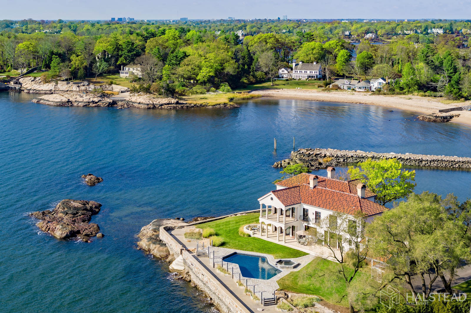 25 Butlers Island Road, Darien, Connecticut, 06820, $10,900,000, Property For Sale, Halstead Real Estate, Photo 24