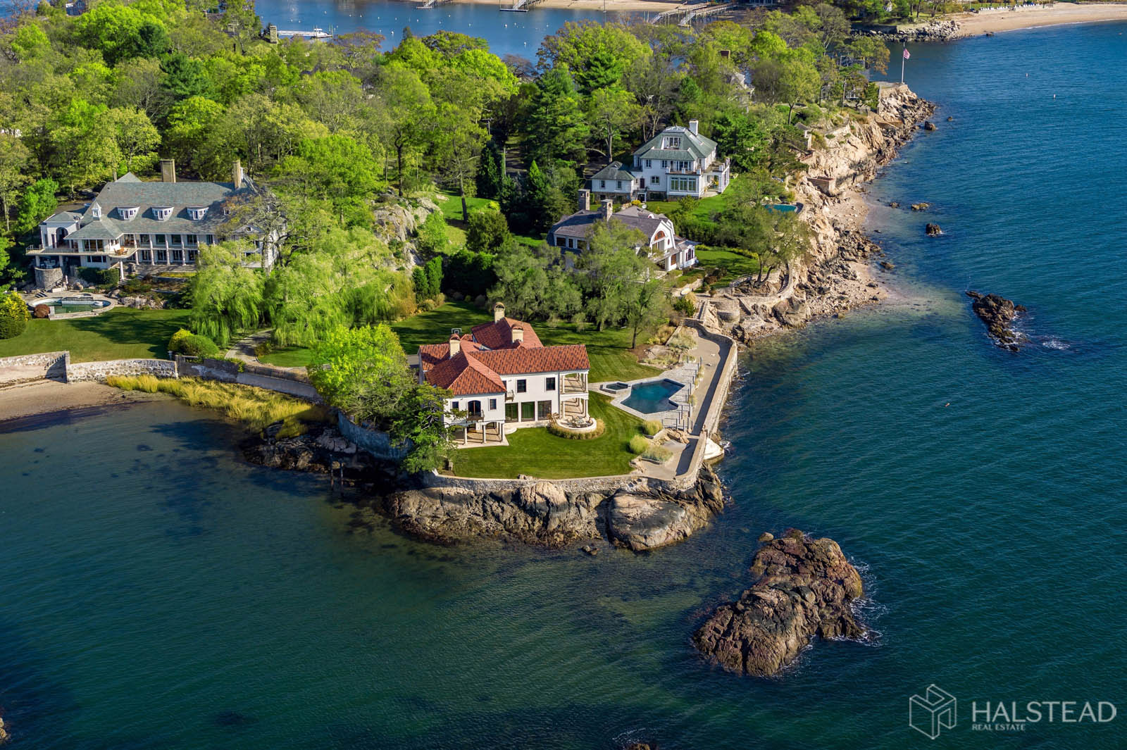 25 Butlers Island Road, Darien, Connecticut, 06820, $10,900,000, Property For Sale, Halstead Real Estate, Photo 25