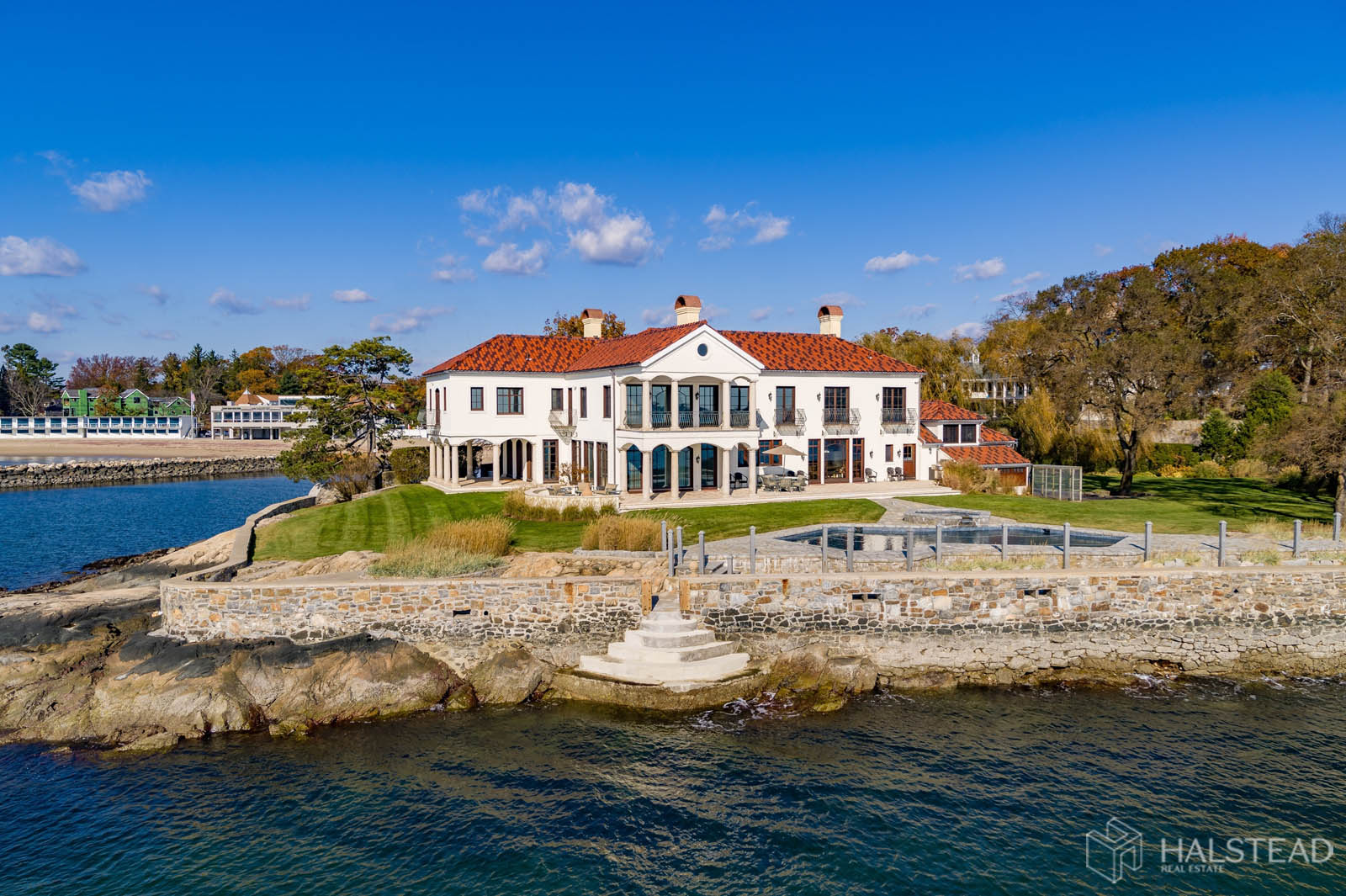 25 Butlers Island Road, Darien, Connecticut, 06820, $10,900,000, Property For Sale, Halstead Real Estate, Photo 2