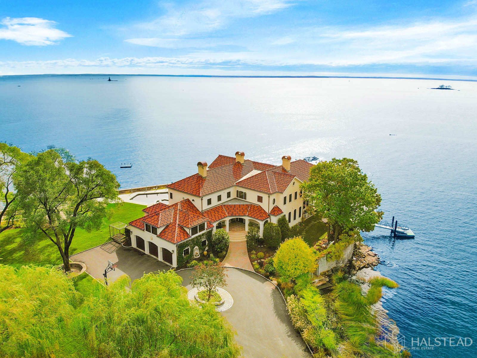 25 Butlers Island Road, Darien, Connecticut, 06820, $10,900,000, Property For Sale, Halstead Real Estate, Photo 3