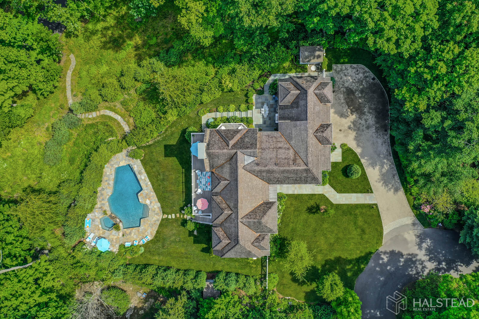 21 Canoe Trail, Darien, Connecticut, 06820, $3,750,000, Property For Sale, Halstead Real Estate, Photo 1