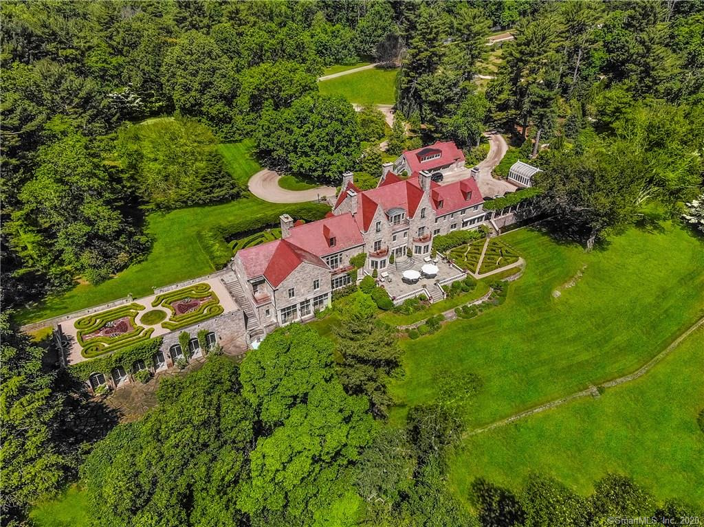 1233 Rock Rimmon Road, Stamford, Connecticut, 06903, $49,500,000, Property For Sale, Halstead Real Estate, Photo 1