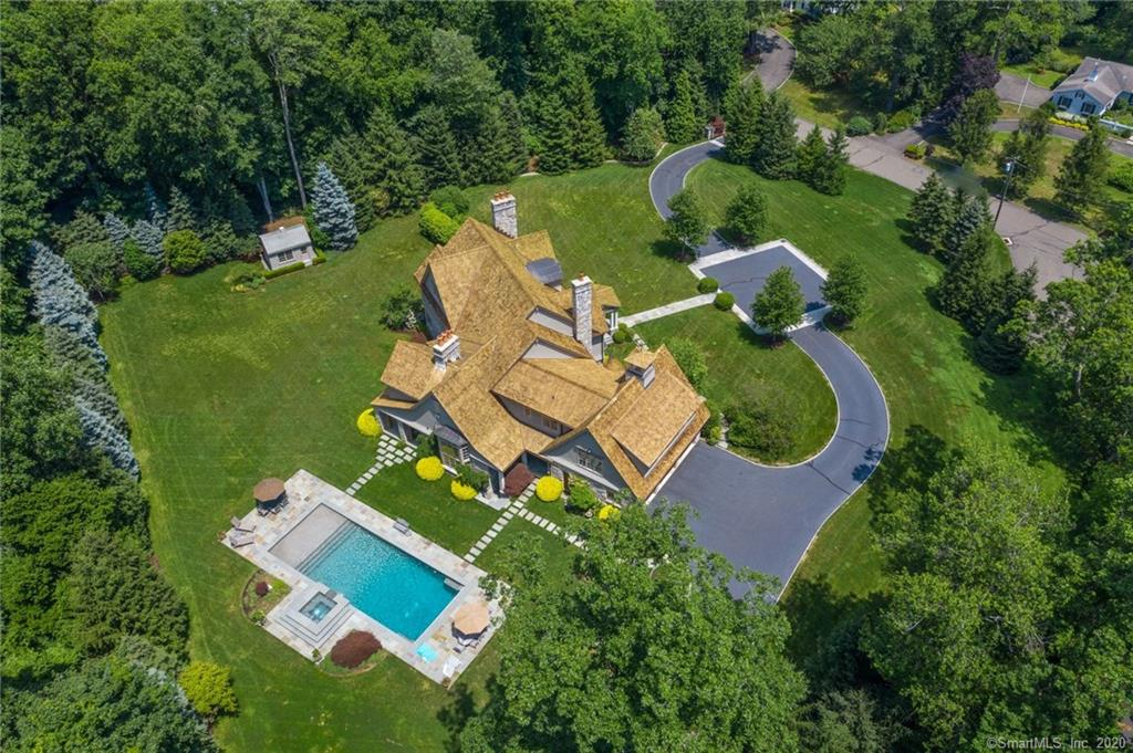 35 Charter Oak Lane, New Canaan, Connecticut, 06840, $3,999,000, Property For Sale, Halstead Real Estate, Photo 1