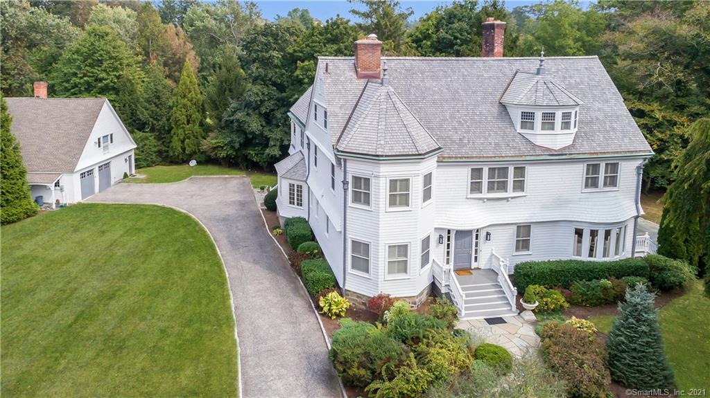 143 Otter Rock Drive, Greenwich, Connecticut, 06830, $5,750,000, Property For Sale, Halstead Real Estate, Photo 1