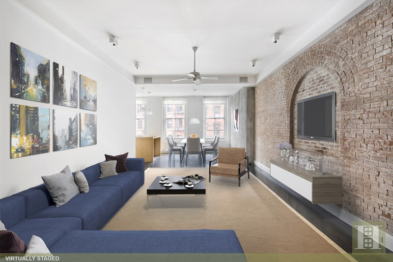Duane Park Loft, Tribeca, NYC, 10013, Price Not Disclosed, Rented Property, Halstead Real Estate, Photo 3