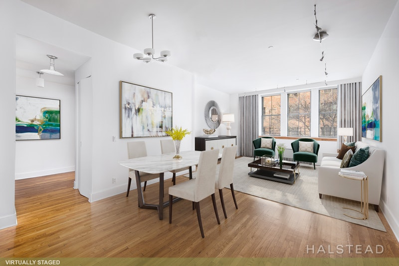 53 North Moore Street 2j, Tribeca, NYC, 10013, $2,300,000, Sold Property, Halstead Real Estate, Photo 1
