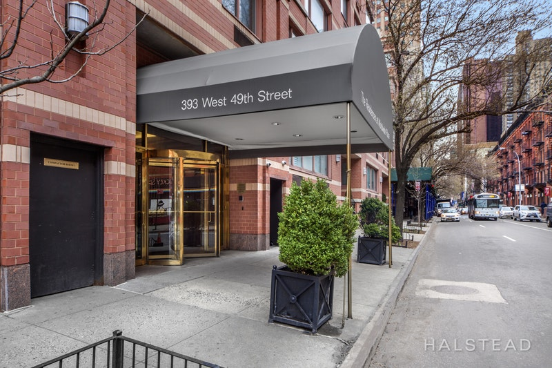 393 West 49th Street 4y, Midtown West, NYC, 10019, $700,000, Sold Property, Halstead Real Estate, Photo 9
