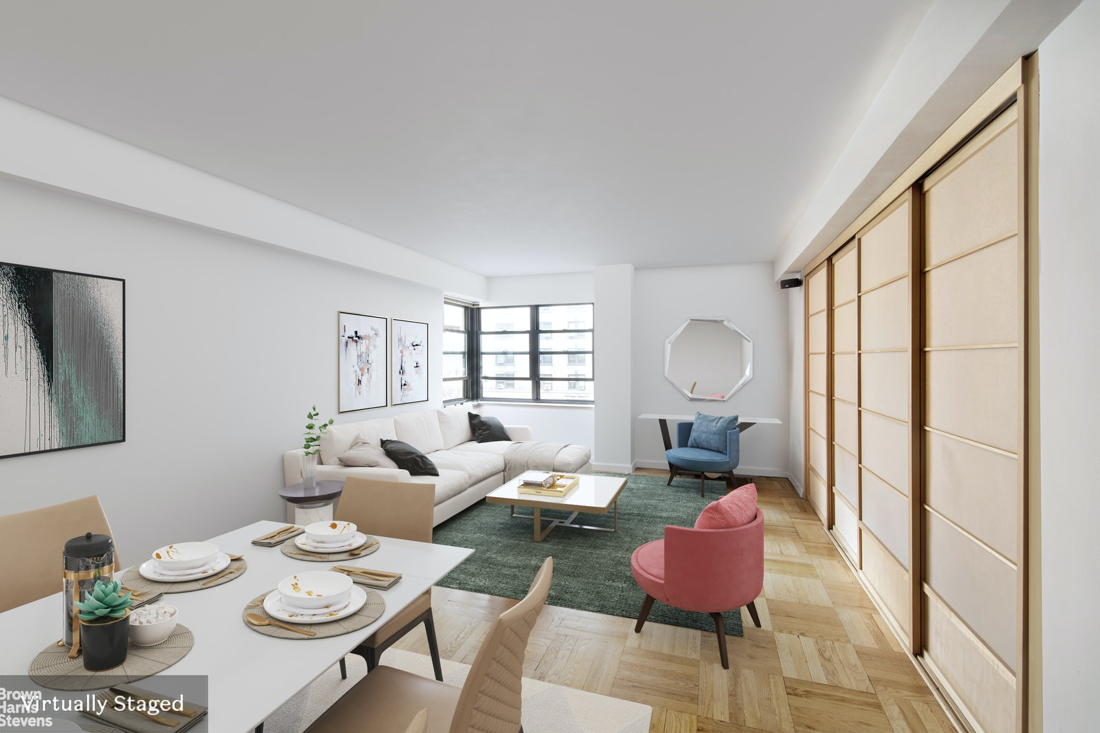 11 Riverside Drive 7le, Upper West Side, NYC, 10023, $525,000, Sold Property, Halstead Real Estate, Photo 1