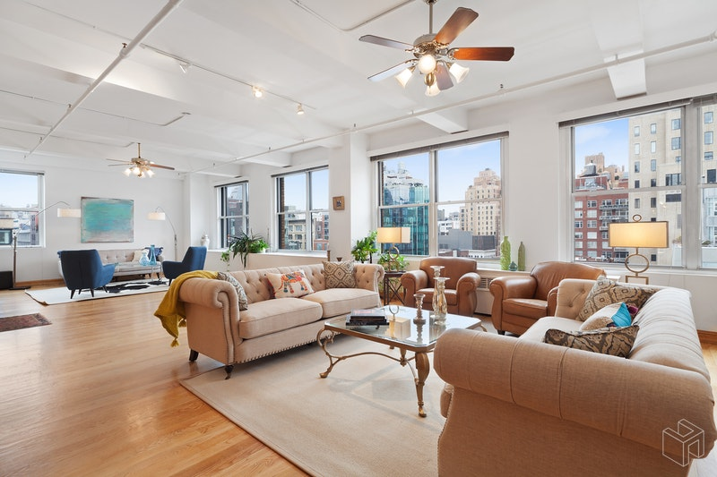 205 West 19th Street 8/f, Chelsea, NYC, 10011, $4,395,000, Sold Property, Halstead Real Estate, Photo 2