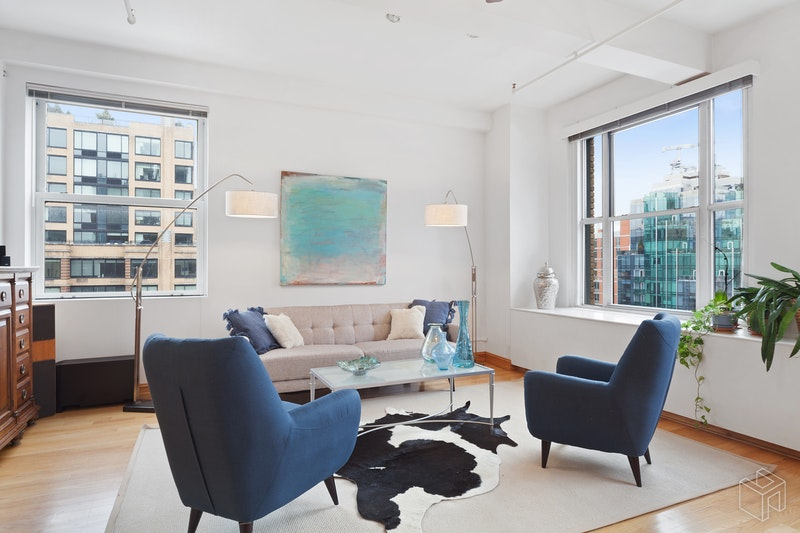 205 West 19th Street 8/f, Chelsea, NYC, 10011, $4,395,000, Sold Property, Halstead Real Estate, Photo 4