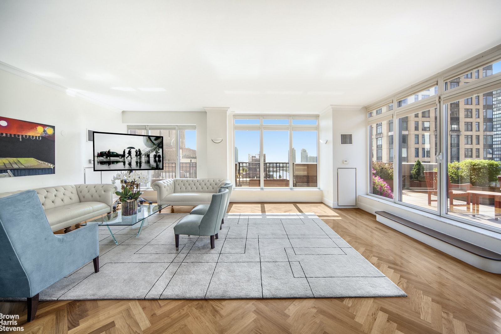 351 East 51st Street Ph1, Midtown East, NYC, 10022, $8,500,000, Property For Sale, Halstead Real Estate, Photo 1