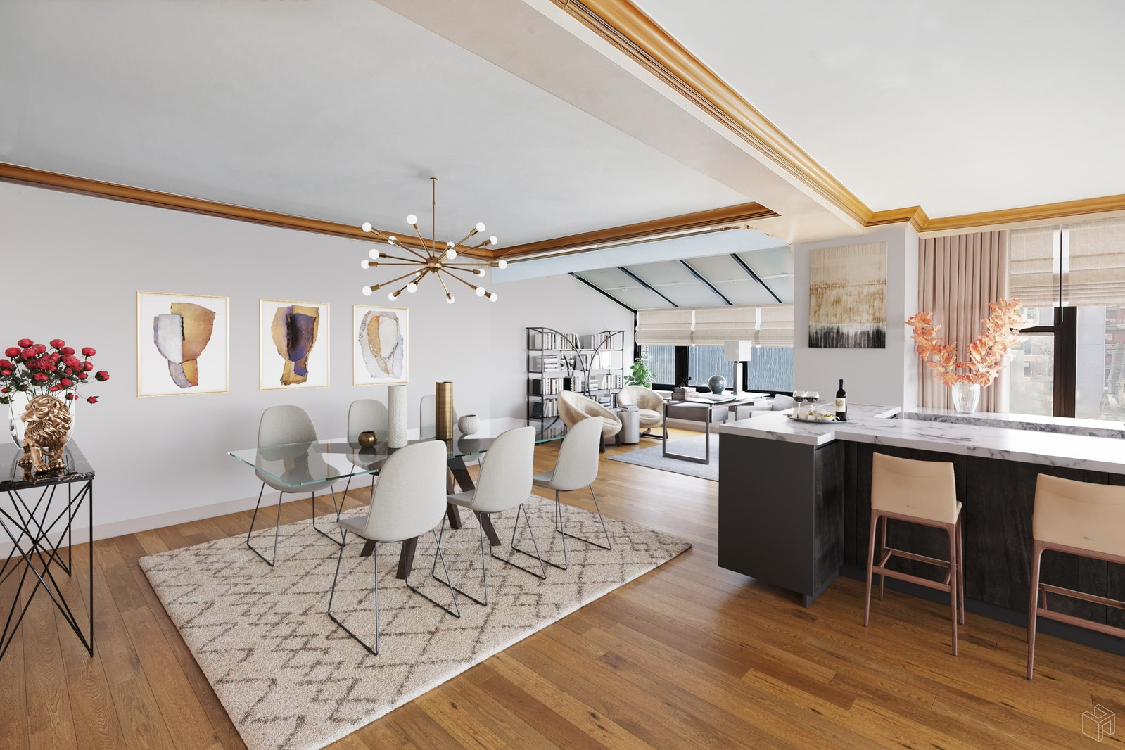 117 East 57th Street 23b, Midtown East, NYC, 10022, $2,295,000, Property For Sale, Halstead Real Estate, Photo 10
