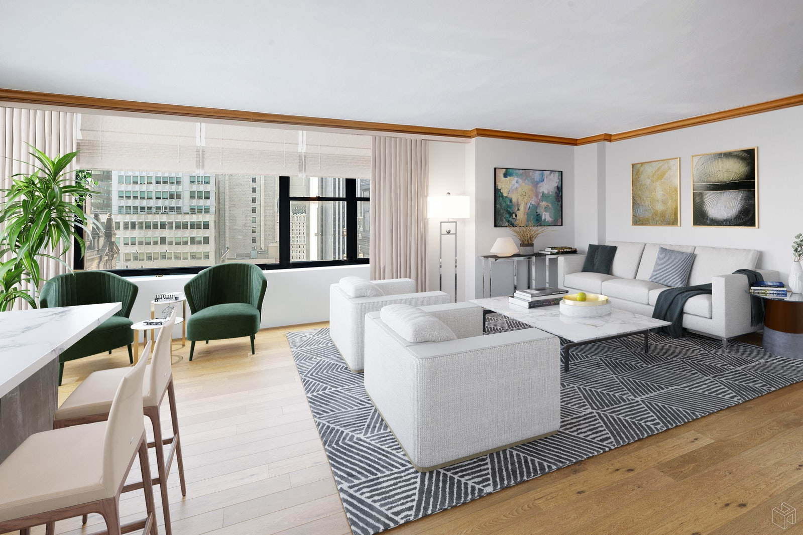 117 East 57th Street 23b, Midtown East, NYC, 10022, $2,295,000, Property For Sale, Halstead Real Estate, Photo 9