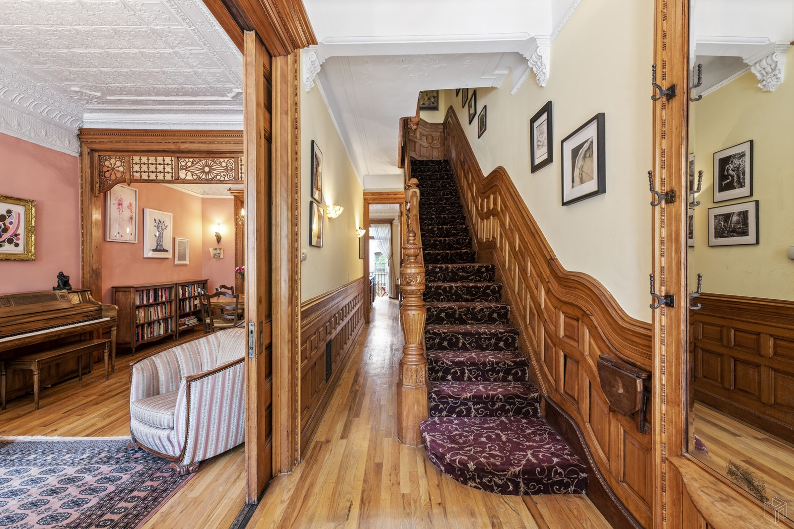 Illustrious Hamilton Heights Townhouse, Upper Manhattan, NYC, 10032, $2,795,000, Property For Sale, Halstead Real Estate, Photo 3