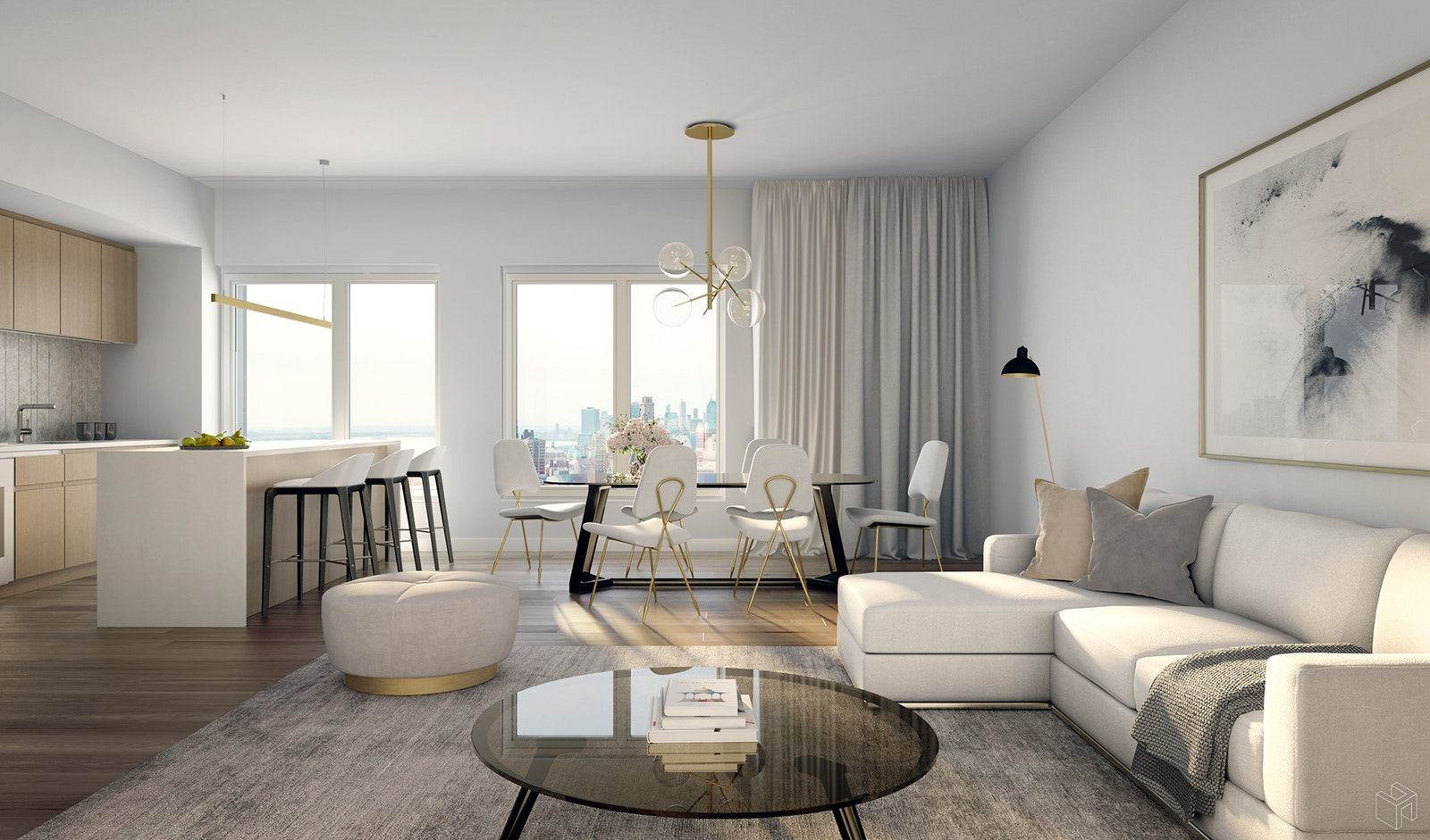 10 Nevins Street 12c, Downtown Brooklyn, Brooklyn, NY, 11217, $1,425,000, Sold Property, Halstead Real Estate, Photo 1