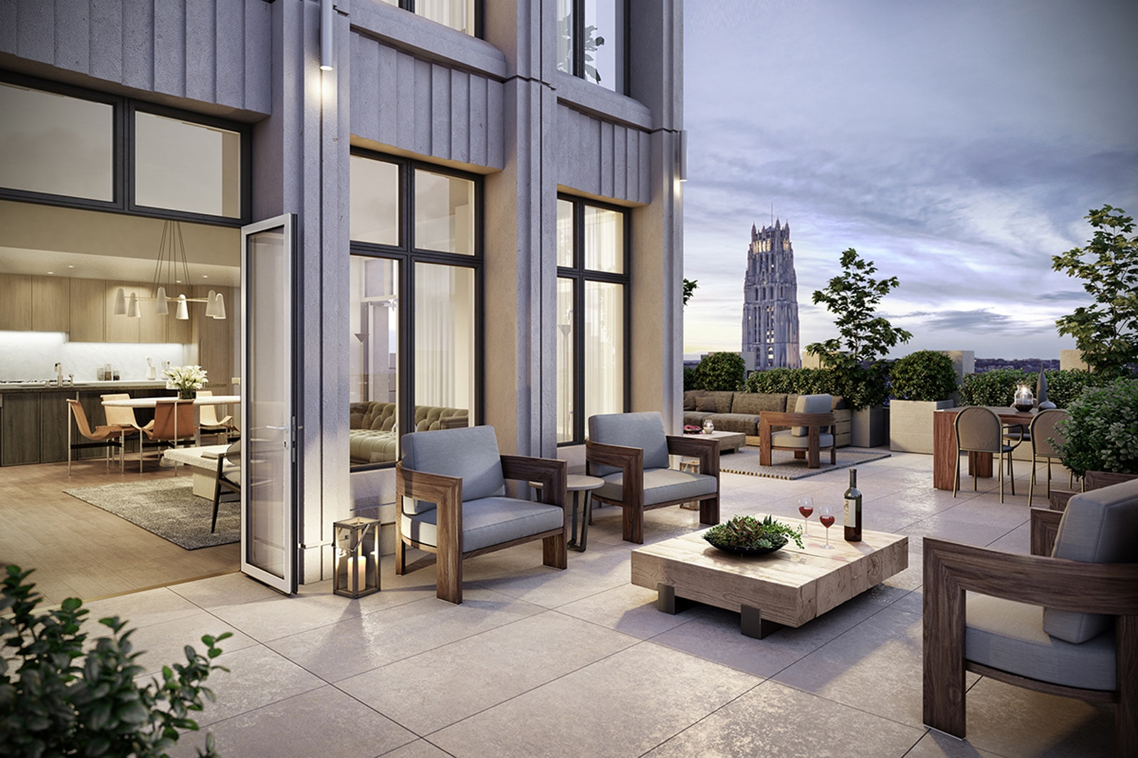 543 West 122nd Street 17e, Upper Manhattan, NYC, 10027, $2,875,000, Property For Sale, Halstead Real Estate, Photo 1