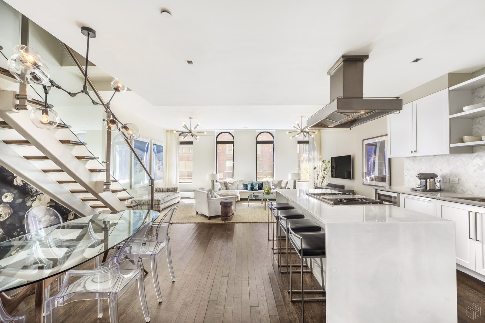 92 Warren Street, Tribeca, NYC, 10007, $3,875,000, Sold Property, Halstead Real Estate, Photo 2