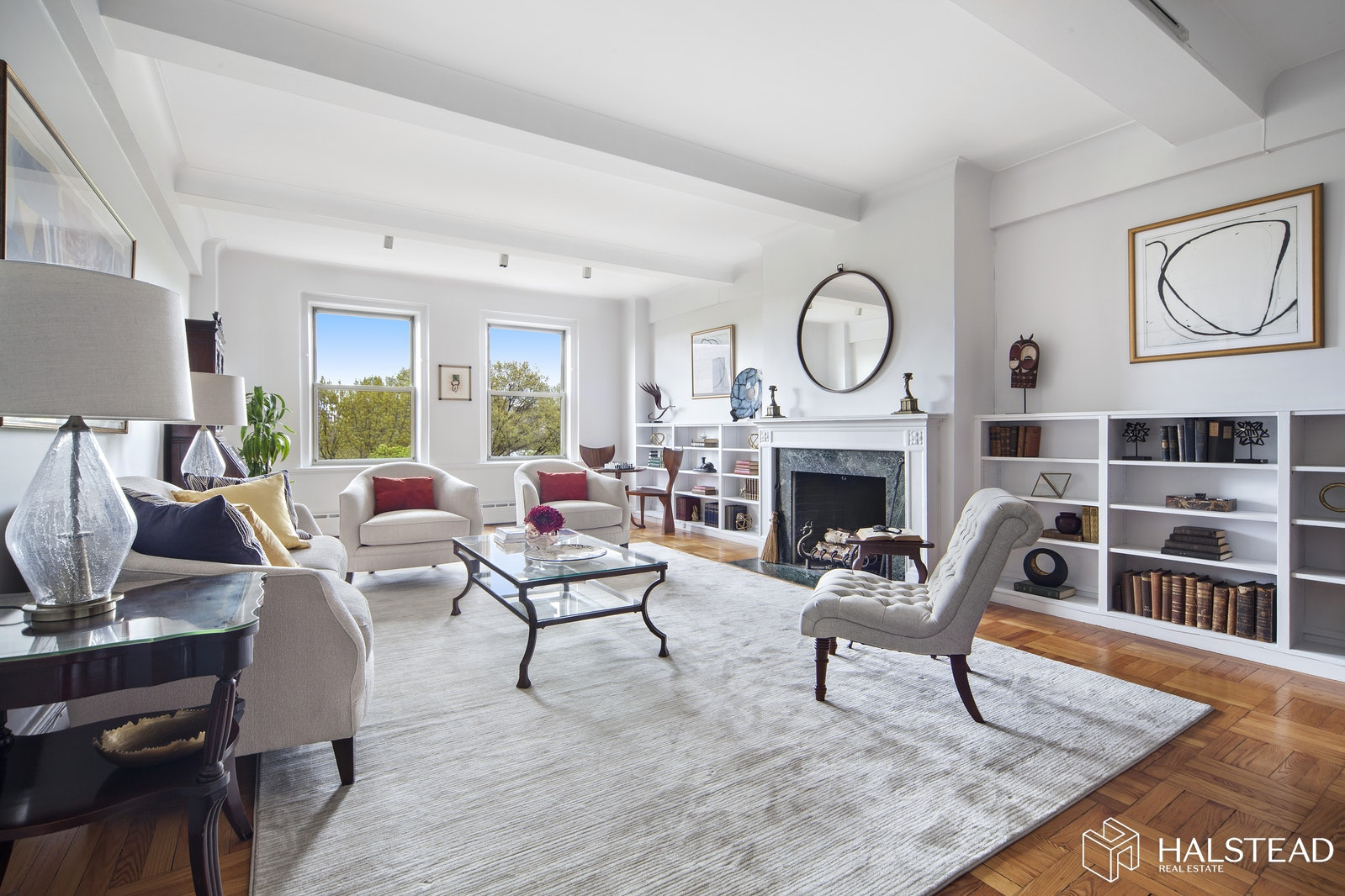 322 Central Park West 8b, Upper West Side, NYC, 10025, $5,995,000, Property For Sale, Halstead Real Estate, Photo 1